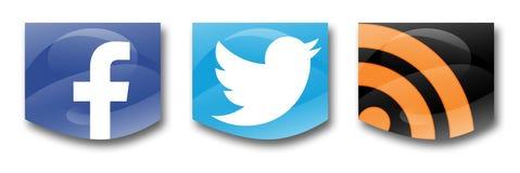 Sociale netwerken Stock Foto