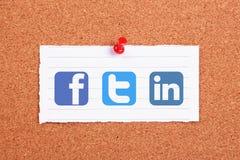 Sociale netwerken Stock Afbeeldingen