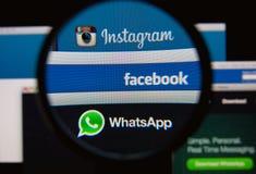 Sociale netwerken Royalty-vrije Stock Afbeeldingen
