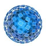 Sociale netwerkstructuur royalty-vrije illustratie