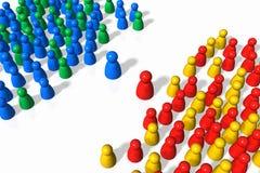 Sociale relaties Royalty-vrije Stock Afbeelding