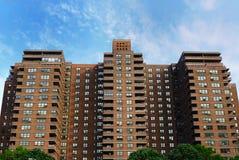 Sociale woningbouw Royalty-vrije Stock Afbeeldingen
