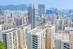 Sociale woningbouw in Hong Kong Royalty-vrije Stock Fotografie