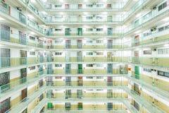 Sociale woningbouw in Hong Kong Royalty-vrije Stock Afbeelding
