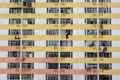 Sociale woningbouwlandgoed royalty-vrije stock afbeeldingen