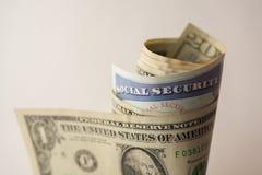 Sociale zekerheidkaart royalty-vrije stock foto