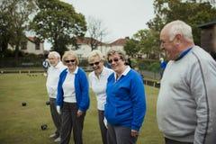 Socialising at the Bowling Green