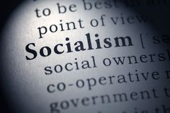 Definition of the word socialism. Fake Dictionary, Dictionary definition of the word socialism stock photos