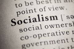 Definition of the word socialism. Fake Dictionary, Dictionary definition of the word socialism stock photography