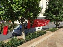 Socialist Aotearoa Banner Royalty Free Stock Photo