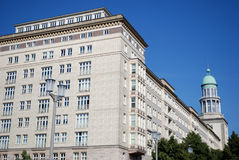 Socialist architecture in berlin Stock Photography