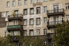 Socialistisk arkitektur i Berlin royaltyfri bild