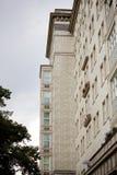 Socialistisk arkitektur i Berlin arkivbild