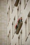 Socialistisk arkitektur i Berlin fotografering för bildbyråer