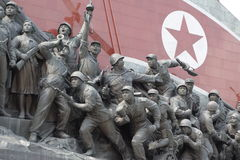 Socialistisk revolutionmonument Royaltyfri Bild