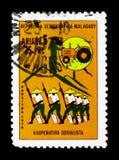 Socialistiskt kooperativ, serie, circa 1978 Royaltyfri Bild