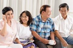 Socializing Stock Photo