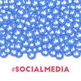 #socialmedia. Stock Photography