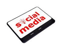 Socialt massmedia Royaltyfria Foton