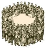 Sociedad stock de ilustración