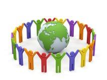 Sociedad del mundo. stock de ilustración