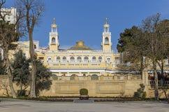 Sociedad filarmónica del estado en Baku Imagen de archivo