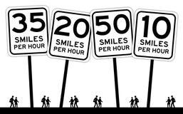 Sociedade feliz Imagens de Stock
