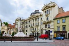 Sociedade filarmônica nacional lituana, Vilnius, Lituânia Fotografia de Stock Royalty Free