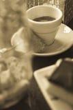 Società del caffè Fotografia Stock