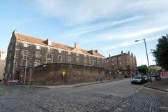 Società del whisky a Leith - Edinburgh, Scozia fotografia stock