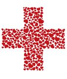 Società della croce rossa Fotografia Stock