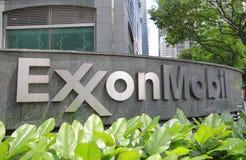 Società della Mobil Oil di Exxon fotografia stock libera da diritti