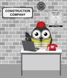 Società di costruzioni Immagine Stock