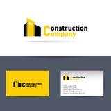 Società di costruzioni Biglietto da visita Fotografia Stock