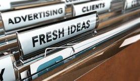 Società o agenzia di pubblicità Immagini Stock