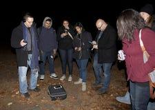 Società paranormale di Brooklyn durante la ricerca Immagini Stock Libere da Diritti