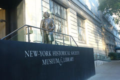 Società storica di New York Fotografia Stock
