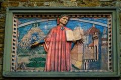 Societa Dante Alighieri Cultural Society Building Florence Italy fotografia de stock royalty free