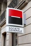 Societe Generale bank royalty free stock image