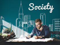 Society Community Unity Network Group Concept Royalty Free Stock Image