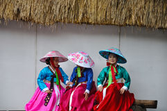 Society for Korean Dance Education + Hata Royalty Free Stock Image
