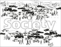 SocietyBackground Stock Photo
