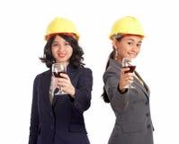 Socio commerciale femminile Immagini Stock