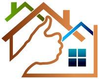 Socio de las propiedades inmobiliarias libre illustration