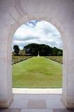 Socio militar Don Rak del cementerio. Imagen de archivo libre de regalías
