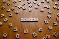 socjalny Zdjęcia Stock