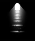 Socjalny emisyjny rozwiązywać, sposób światło i wolność, Zdjęcie Stock