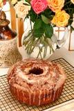 Sock-It-To-Me Cake Stock Photo