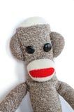 Sock Monkey. Isolated on a White Background Royalty Free Stock Image