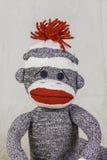 Sock Monkey Layout Royalty Free Stock Image